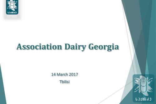 Presentation of dairy sector